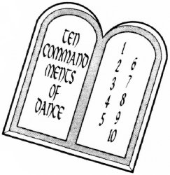 Ten Commandments of Dance