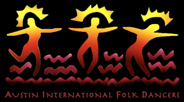 Austin International Folk Dancers logo
