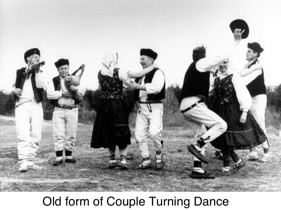 Old Form of Couple Turning Dance - Vonnie Brown