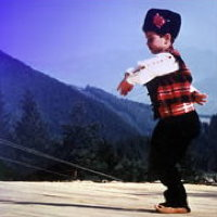 Juneau folk dancer