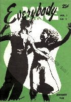 Everybody Dance magazine 1950 front cover