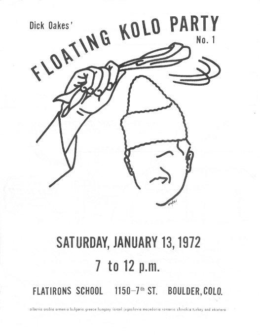 alex wilson Kitsch Culture floating kolo 1972